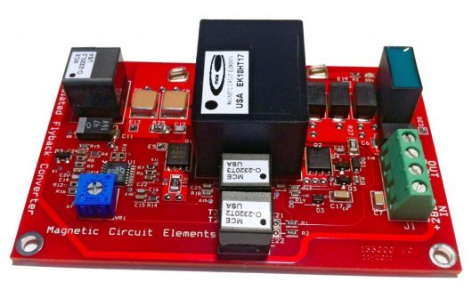 Flyback Converter DB2320 - 28v to 3.3v, 6A Power Supply