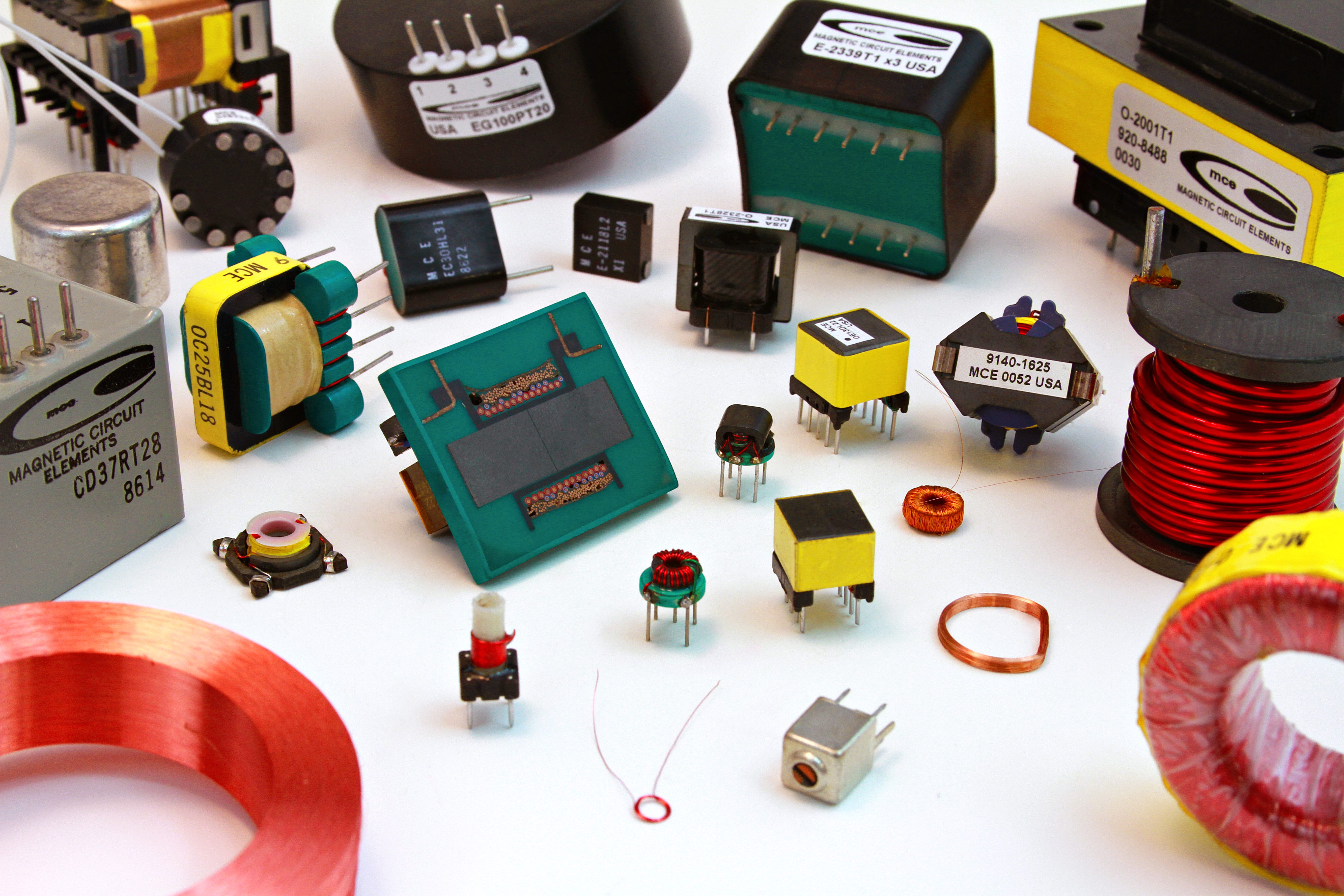 Mce Magnetic Circuit Elements Manufacturers Hv Transformers Chokes Circuits With Inductors Grouping Of Parts